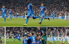 Kết quả bóng đá quốc tế đêm 22/4, sáng 23/4: Juventus 0-1 Napoli, Man City cùng Arsenal thắng tưng bừng