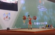 Đoàn Việt Nam giành 5 HCV tại Giải cử tạ vô địch trẻ và thanh thiếu niên châu Á 2018