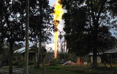 Hỏa hoạn tại giếng dầu ở Indonesia, 15 người thiệt mạng