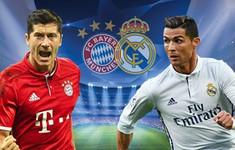 TRỰC TIẾP BÓNG ĐÁ Bayern Munich - Real Madrid: Isco, Ronaldo đá chính, Gareth Bale dự bị