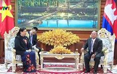 Quốc hội hai nước Việt Nam - Campuchia tiếp tục hợp tác chặt chẽ