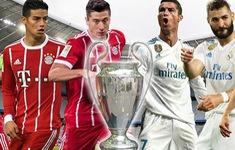 TRỰC TIẾP BÓNG ĐÁ Bayern Munich - Real Madrid: Isco đá chính, Bale dự bị