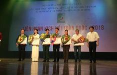 NSƯT Công Lý, Công Vượng đoạt huy chương vàng tại Liên hoan Kịch nói 2018