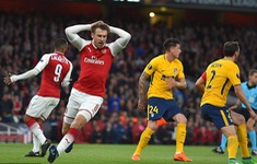 Bán kết Europa League: Arsenal 1-1 Atletico Madrid