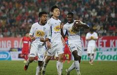 TRỰC TIẾP BÓNG ĐÁ Hoàng Anh Gia Lai 0-0 SHB Đà Nẵng: Hiệp một