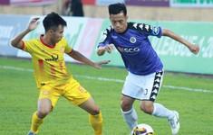 TRỰC TIẾP BÓNG ĐÁ CLB Nam Định 0-1 CLB Hà Nội: Hết hiệp một