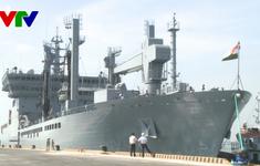 Đà Nẵng đón đoàn tàu hải quân Ấn Độ