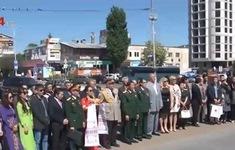 Cựu chiến binh Việt Nam và Ukraine gặp gỡ, giao lưu hữu nghị