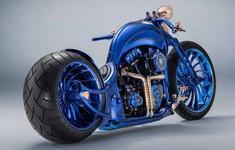 """Harley-Davidson Blue Edition: """"Quái thú"""" mô tô có giá đắt hơn cả một siêu xe Ferrari"""