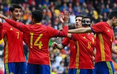 ĐT Tây Ban Nha loại Morata, Fabregas khỏi đội hình dự World Cup 2018