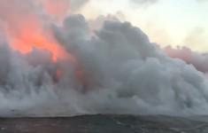 Đám mây axit chết người bốc lên bầu trời Hawaii