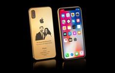 Cận cảnh iPhone X phiên bản 'đám cưới Hoàng gia' giá gần 90 triệu đồng