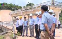 Bộ NN&PTNT kiểm tra công trình thủy lợi tại Bình Định