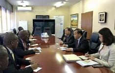Botswana muốn hợp tác về nông nghiệp, công nghệ thông tin, y tế với Việt Nam