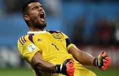 Thủ thành Sergio Romero sớm chia tay World Cup 2018