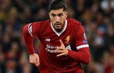 Emre Can có mặt trong danh sách tham dự trận chung kết Champions League 2018 cùng Liverpool
