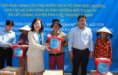 UNICEF và Bộ NN-PTNT tổng kết công tác hỗ trợ nước sạch khẩn cấp sau bão Damrey