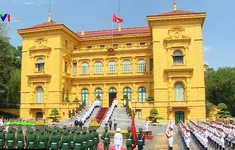 Lễ đón trọng thể Toàn quyền Australia thăm chính thức Việt Nam