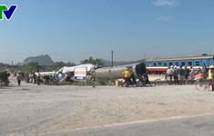 Đình chỉ 2 nhân viên gác chắn trong vụ tai nạn tàu hỏa ở Thanh Hóa