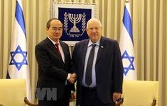 Tổng thống Israel: Đoàn đại biểu Israel rất ấn tượng về TP.HCM