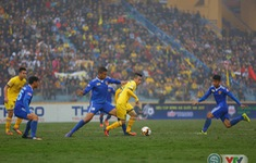 TRỰC TIẾP BÓNG ĐÁ Nuti Café V.League 2018: CLB Quảng Nam 2-0 CLB Nam Định: Claudecir lập công