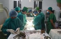 Cứu sống bệnh nhân bị thanh sắt chọc từ nếp bẹn xuyên ổ bụng