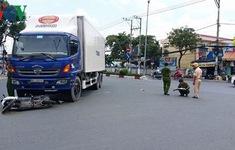 Xe tải va chạm với mô tô, 1 người chết, 2 người bị thương nặng