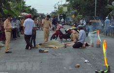 Tai nạn giao thông giữa 2 xe mô tô, khiến 3 người thương vong