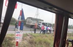 Xe tải đâm xe khách trên cao tốc Hà Nội - Bắc Giang, 8 người thương vong