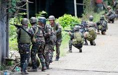 Quân đội Philippines giao tranh với tàn quân IS