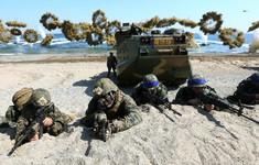 Tổng thống Mỹ để ngỏ khả năng có thể nối lại tập trận với Hàn Quốc
