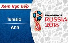 XEM TRỰC TIẾP FIFA World Cup™ 2018: ĐT Tunisia – ĐT Anh