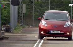 Con đường vừa chạy xe vừa sạc điện ở Thụy Điển