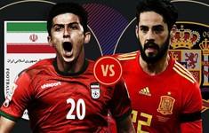 TRỰC TIẾP FIFA World Cup™ 2018: ĐT Iran – ĐT Tây Ban Nha (1h00 ngày 21/6 trên VTV3 & VTV3HD)