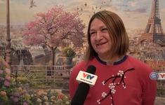 Phóng viên Thể Thao VTV tác nghiệp tại Nga: Câu chuyện thú vị về cặp vợ chồng là CĐV của ĐT Nga