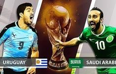 TRỰC TIẾP FIFA World Cup™ 2018, ĐT Uruguay 0-0 ĐT Saudi Arabia: Hiệp 1