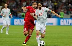 TRỰC TIẾP FIFA World Cup™ 2018, ĐT Iran 0–0 ĐT Tây Ban Nha: Hiệp 1 kết thúc