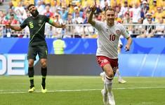 TRỰC TIẾP FIFA World Cup™ 2018, Đan Mạch 1-0 Australia: Eriksen mở tỉ số trận đấu (Hiệp một)