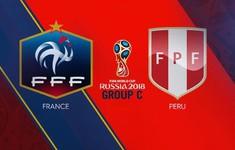 TRỰC TIẾP FIFA World Cup™ 2018, ĐT Pháp - ĐT Peru: Giroud đá chính thay Dembele