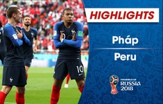 VIDEO HIGHLIGHTS: Pháp 1-0 Peru (Bảng C FIFA World Cup™ 2018)