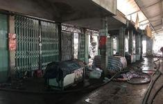 Nguyên nhân ban đầu vụ cháy chợ Sóc Sơn, Hà Nội