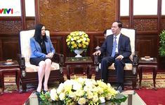 Chủ tịch nước Trần Đại Quang tiếp Đại sứ Ba Lan chào từ biệt