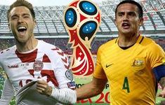 TRỰC TIẾP FIFA World Cup™ 2018, Đan Mạch - Australia: 18h30 trên kênh VTV6 & VTV6HD