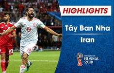 HIGHLIGHTS FIFA World Cup™ 2018: ĐT Iran 0-1 ĐT Tây Ban Nha