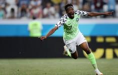 Kết quả FIFA World Cup™ 2018: Musa tỏa sáng, ĐT Nigeria thắng thuyết phục Iceland