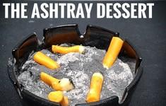 Độc đáo gạt tàn thuốc ăn được tại Anh