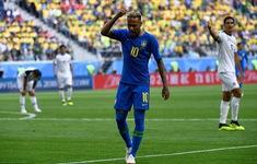 Lần đầu ở FIFA World Cup™ 2018, VAR được sử dụng để từ chối penalty trận Brazil - Costa Rica