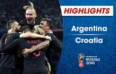 VIDEO HIGHLIGHTS: Argentina 0-3 Croatia (Bảng D FIFA World Cup™ 2018)