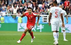 TRỰC TIẾP FIFA World Cup™ 2018, Serbia 1-0 Thuỵ Sĩ: Hiệp 1 kết thúc