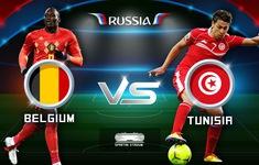 TRỰC TIẾP FIFA World Cup™ 2018, Bỉ - Tunisia: 19h00 hôm nay, 23/6 trên VTV6